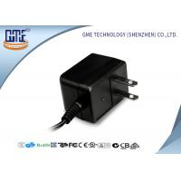 Best Black CE/GS EU Plug 3-10w Ac Dc Switching Power Supply With 1.5m DC Cable wholesale