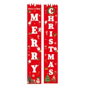 Best Merry Christmas 12.2x70.87'' Decorative Garden Flags wholesale