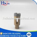 Best Total Length 60mm Diamond Length 10mm M10 Brazed Diamond Core Drill Bit China wholesale