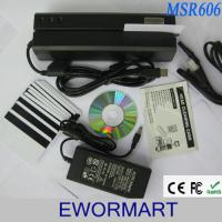 Best MSR606 Magnetic Stripe Card Reader Writer Encoder MSR206 MSR605 with free 20 Cards wholesale