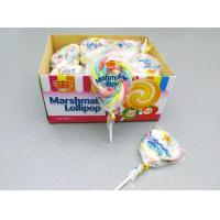 Best 11g Marshmallow Lollipop Colorful Shape Taste Sweet and Soft Give You A Wonderful Feeling wholesale