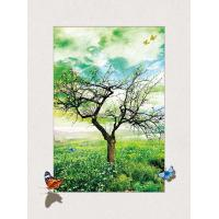 Best Four Season Tree 5d Lenticular Pictures 0.6mm Pet 30*40cm Painting Poster wholesale