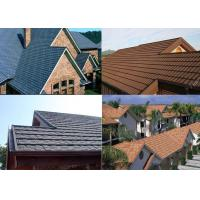 Best Stone Coated Aluminum Step Tiles Roofing Sheet 1340x420mm with 8 accosseries wholesale