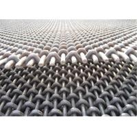 Best 65Mn High Carbon Steel Crimped Wire Mesh Screen Anti Rust For Mine Machine wholesale