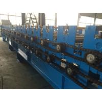 Cheap 0.3 - 0.8mm  Pre - Cutting Wave Roof Panel Roll Forming Machine High speed for sale
