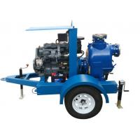 China 6 Inch Diesel Engine Self-Priming Centrifugal Sewage Water Treatment Pump on sale