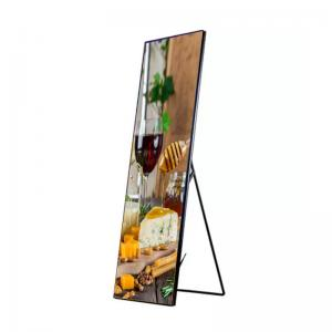 Best P2.5 Smart Led Poster Display 1100cd 280*210mm For Indoor Shopping Mall wholesale