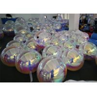 Best 1.2m , 1.8m Inflatable Mirror Balloon With Logo Print For Advertising wholesale