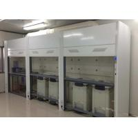Best Botton Supporting Structure Walk In Fume Hood 1800*800*2200mm External Size wholesale