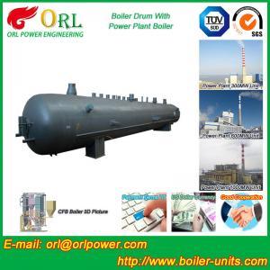 Quality Heat preservation biomass boiler mud drum ORL Power ASME certification manufacturer wholesale