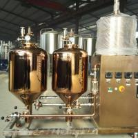 Best Small Capacity Craft Beer Brewing Equipment 30L - 5000L Steam Heating For Home wholesale
