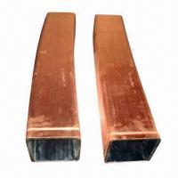 Best Square Copper Tubes with 5 to 1000mm Outer Diameter, 0.41 to 20mm Thickness wholesale