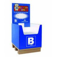 Best 4c Printing Cardboard Retail Pallet Displays , Pop Display Boxes For Toy wholesale