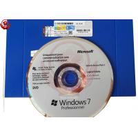China 32bit OEM Windows 7 Operating System DVD Package For XP Users on sale