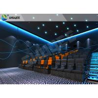 Best Vivid Muti-Dimensional 4D Movie Theater With Motion Seats , 4D Cinema Seats wholesale
