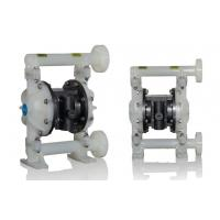 Cheap 135L/Min Plastic Diaphragm Pump High Pressure 8.3bar With Flap Valves for sale