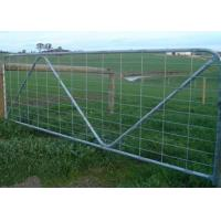 Best Horse Cattle Fence Gate Low Carbon Steel Material Powder Coated Surface Treatments wholesale
