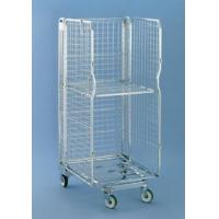 China 3 sided Multifunctional Security Roll Cage, Removable Door Logistic Cart Roll Container on sale