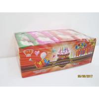 Best Happy Birthday Candle Marshmallow Candy / 11g /4 Pcs In One Bag Twist Cotton Candy wholesale
