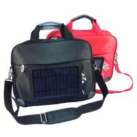 Best Waterproof  Nylon Laptop Solar Charging Backpack With USB Battery Backup wholesale