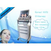 Best Koreal HIFU Machine 4.5mm Action Depth 3 Heads For Facial Wrinkle Remover wholesale