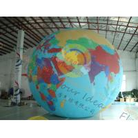 Best Custom 5m PVC Durable Inflatable Globe Ball Helium For Tade Show wholesale