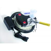 Best Mobile Gravity Feed Airbrush Tanning Kit Machine with Oil Free Compressor and Gun 30PSI wholesale