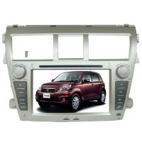 China Double din TOYOTA GPS Navigation car dvd player gps sat nav Yaris Sedan on sale