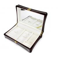 Best Luxury Wood Gift Box Packaging / Wooden Jewelry Case In Glossy Finish wholesale