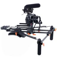 Best New PRO dslr rig kit with Motorized Follow Focus Shoulder Rig Support Pad wholesale