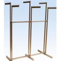 Cheap Metal / Wood Customized Color Display Rack Stand Garment Showrooms 600*500 for sale