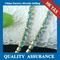 Best Wholesale crystal chain trimming;Top quality rhinestone chain;rhinestone crystal chain trimming wholesale