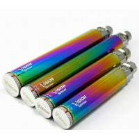 Best Durable Variable Voltage Ecig Battery , Rainbow Vision Spinner Battery wholesale
