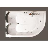 Best Aganist Wall Free Standing Jetted Soaking Tub , American Standard Whirlpool Tub wholesale