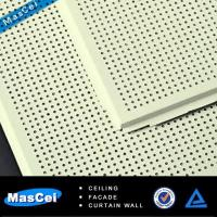Best Acoustic Ceiling Tile with Perforated Metal Strips wholesale