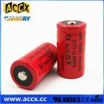 ICR18350 700mAh 3.7V li-ion battery 18350 for led, cordless phone, home application