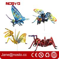 Best 3D Jigsaw Puzzles Insect Cartoon Toys DIY Brain Train promotional toys wholesale