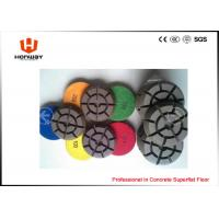 China High Speed Polishing Pads , 3'' Dry Concrete Polishing Pads For Grinder on sale