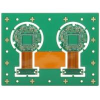 Buy cheap Four Layer Rigid Flexible PCB Printed Board Lead Free HASLSurface Finishing from wholesalers