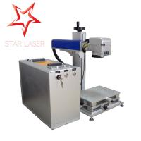 Best Aluminum 30 W Portable Laser Marking Machine Strong Function With Computer wholesale