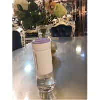 Buy cheap Promotional gift 320ml glass drinking water bottles silicone sleeve glass from wholesalers