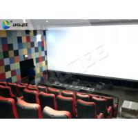 Best Durable 4 People 4D Dynamic Cinema 4D Cinema Equipment With Motion Chair wholesale