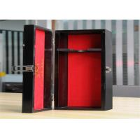 Best Personalized Environment Friendly Luxury Wood Jewelry Display Boxes With Lock wholesale