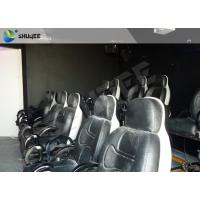 Best Electric System 5D Movie Theater With Motion Ride Special Effect Bubble / Rain / Snow wholesale