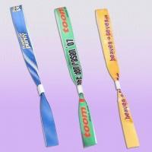 Best Security Fabric Bracelet with Aluminum Clasp Tube, Measures 16 x 400mm wholesale