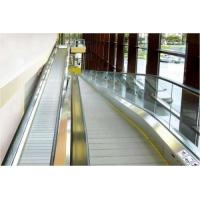 Buy cheap Safety Airport Floor Escalator With Tempered Glass Balustrade Panel from wholesalers