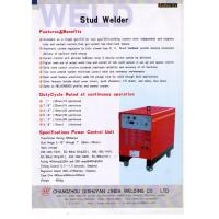 Best Automatic Portable Drawn Arc Stud Welder For Industrial , Stainless Steel,shear connector wholesale
