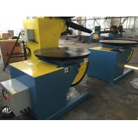 Cheap Motorized Rotating / Tilting Rotary Welding Turning Table For 2 Ton Rated Load Cap for sale