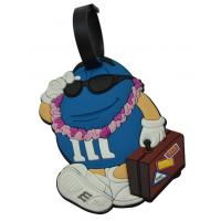 Best PVC Rubber Luggage Tag wholesale