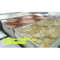 Cheap PVC imitation marble sheet three roller calender laminating and extruder machine for sale